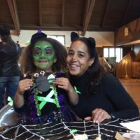 The Indian Village Woman's Garden Club helps with the Indian Village Children's Halloween Party.