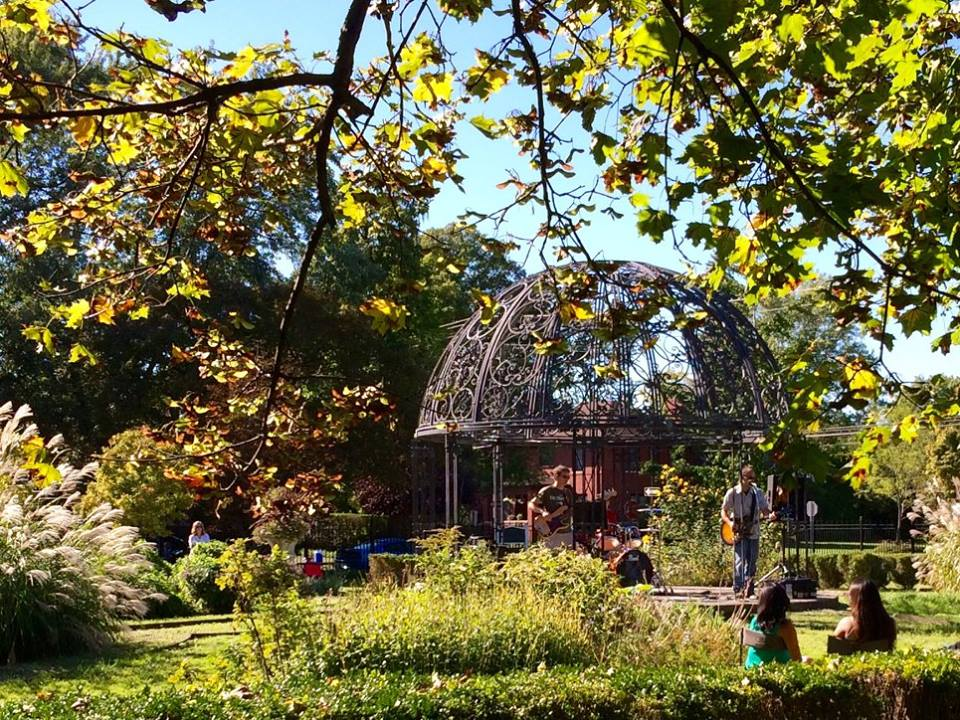 The Centennial Garden, established in 1995, is Indian Village's community garden.