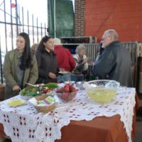 The Pottery Guy @ Shed 1 hosted a reception for Indian Village Woman's Garden Club. Refreshments, including wine, were served.