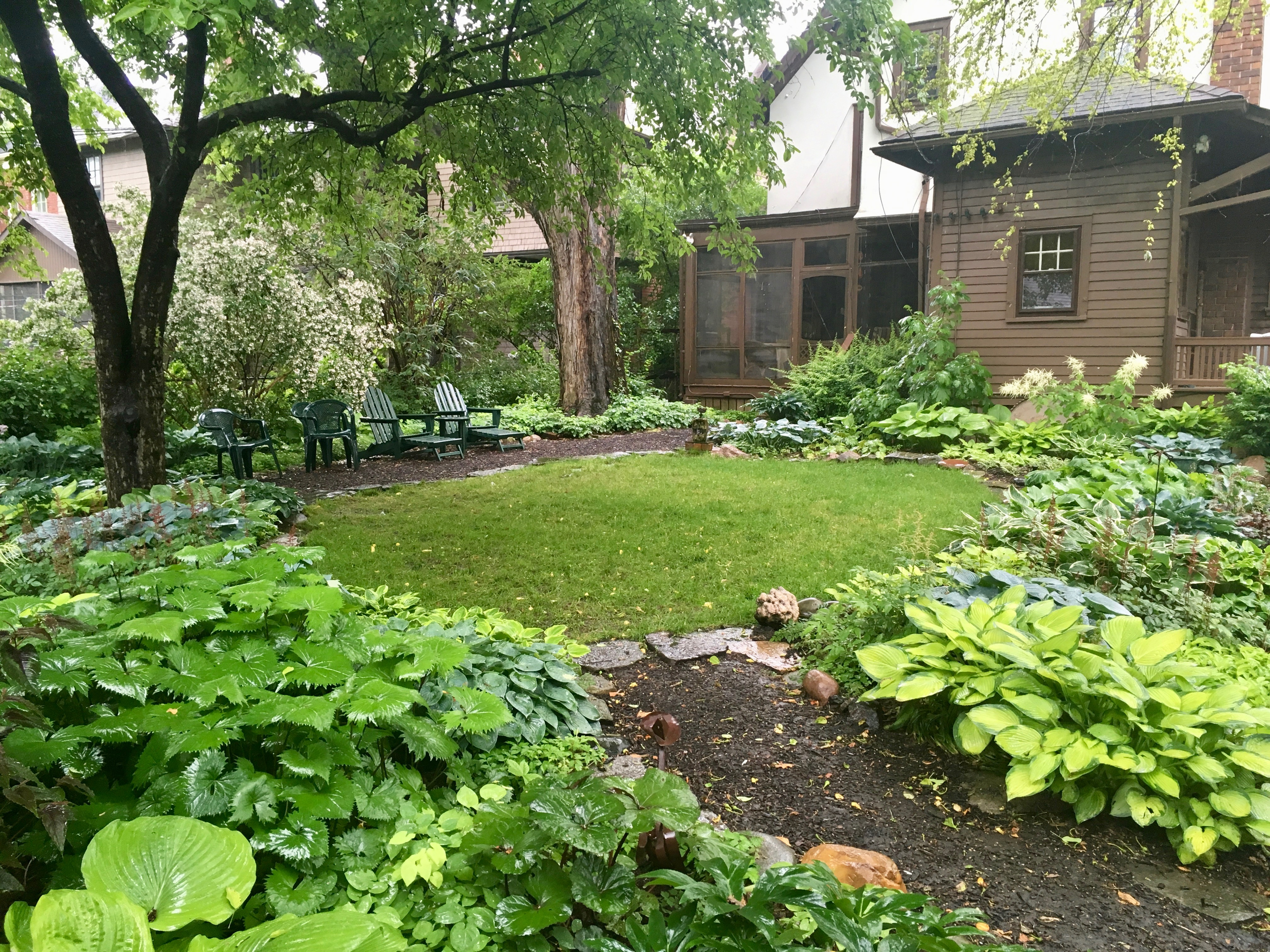 August 12 2019 Tour Of Late Summer Shade Garden Historic Indian Village